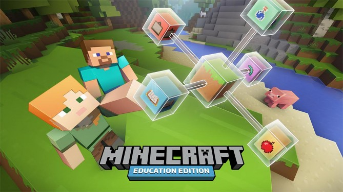 인기게임 마인크래프트를 활용한 교육용 소프트웨어